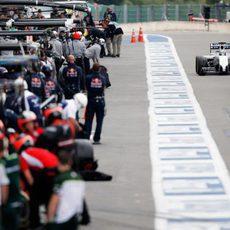 Felipe Massa se dispone a volver a la pista