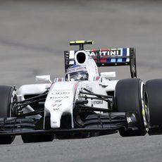Valtteri Bottas tiene opciones de podio en Spa