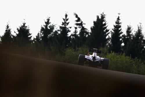 Sebastian Vettel no disputó los Libres 2 de Bélgica