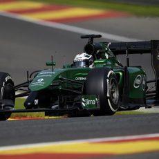 André Lotterer debuta en F1 con Caterham