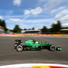 Marcus Ericsson mantuvo a raya a su nuevo compañero en los L2