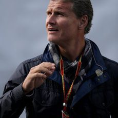 David Coulthard, presente en el circuito de Spa