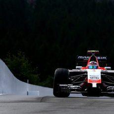 Max Chilton completa los Libres 3 en Spa-Francorchamps