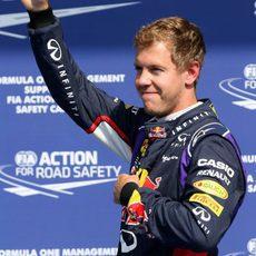 Sebastian Vettel recupera la sonrisa