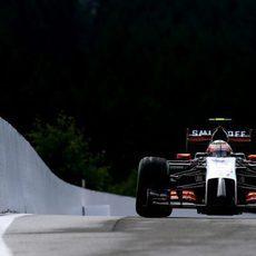 Sergio Pérez se quedó con ganas de más en la clasificación