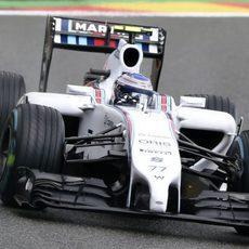 Valtteri Bottas confía en el ritmo en seco del FW36