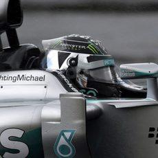 Cuarta pole consecutiva de Nico Rosberg