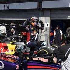 Tercera victoria del año para Daniel Ricciardo