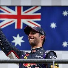 Bandera australiana en honor a Daniel Ricciardo