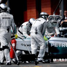 Lewis Hamilton abandona en Bélgica