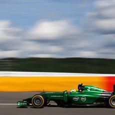 Marcus Ericsson tuvo una carrera sin problemas