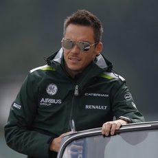 André Lotterer completa la vuelta de los pilotos en Spa