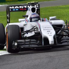 El FW36 de Valtteri Bottas rueda en Italia