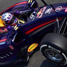 Daniel Ricciardo tuvo un problema con el motor en los Libres 1