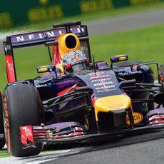 Pruebas con el compuesto duro para Sebastian Vettel