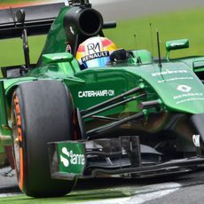 Marcus Ericsson mostró positivismo tras el viernes
