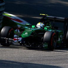 Problema de frenos para Marcus Ericsson en los Libres 1