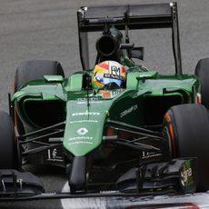 Primeros entrenamientos en F1 para Roberto Merhi