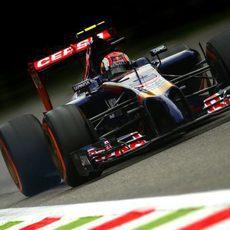 La gestión de neumáticos fue complicada para Daniil Kvyat