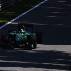 Kamui Kobayashi acabó la clasificación sorprendido