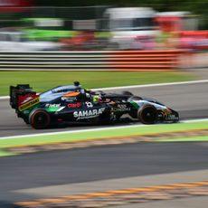 Sergio Pérez y Jenson Button, emparejados en Monza