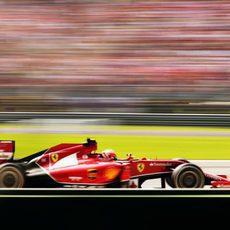 Dos puntos para Kimi Räikkönen en Italia