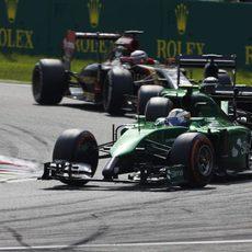 Marcus Ericsson rodó de forma consistente en Italia
