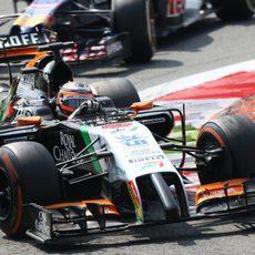 Nico Hülkenberg se quedó sin puntos en Italia