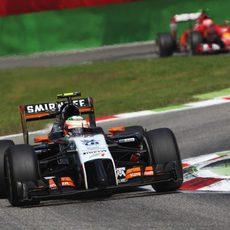 Sergio Pérez se marcha de Monza con seis puntos