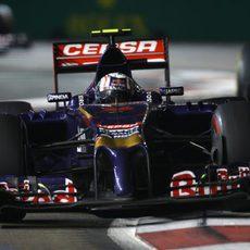 Daniil Kvyat no ha podido beber agua durante el GP de Singapur