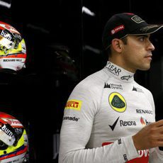 Maldonado se prepara para el GP de Singapur