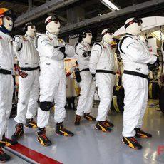 El equipo Renault