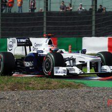 Kubica durante la clasificación