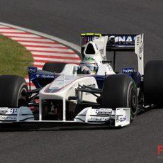 Heidfled en el GP de Japón