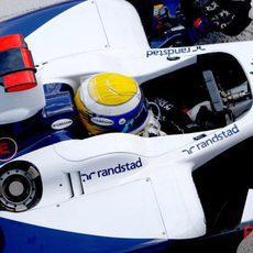 Rosberg en su Williams