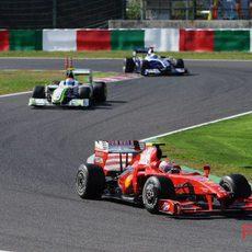 Gran Premio de Japón 2009: Carrera