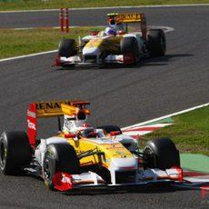 Alonso y Grosjean