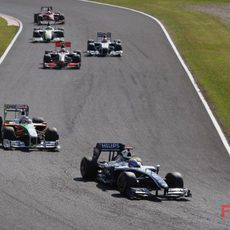Rosberg en los puntos