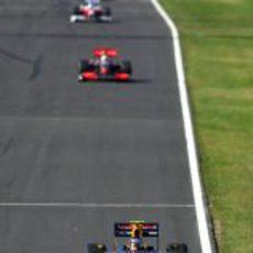 Vettel a por la victoria