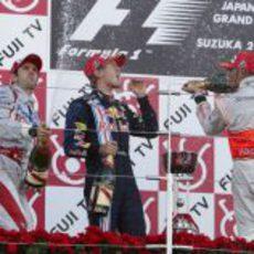 Los 3 vencedores
