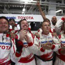 El box de Toyota