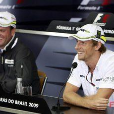 Button y Barrichello