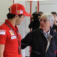 Bernie y Felipe
