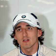 Kubica en Brasil