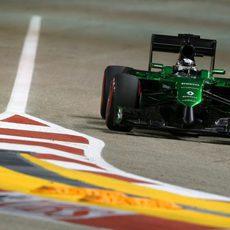 Kamui Kobayashi completa la clasificación en Singapur
