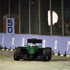 Kamui Kobayashi no superó a Marussia