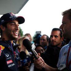 Daniel Ricciardo y su sonrisa llegan a Japón