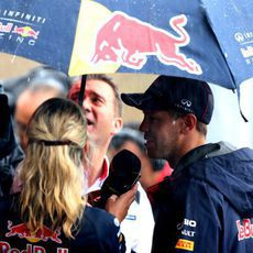 Momento de preguntas para Sebastian Vettel