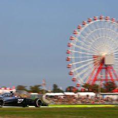 Jenson Button con más ritmo que en Grandes Premios anteriores