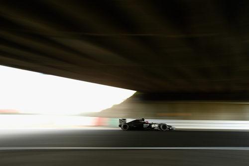 Los cambios en el coche de Jenson Button han funcionado
